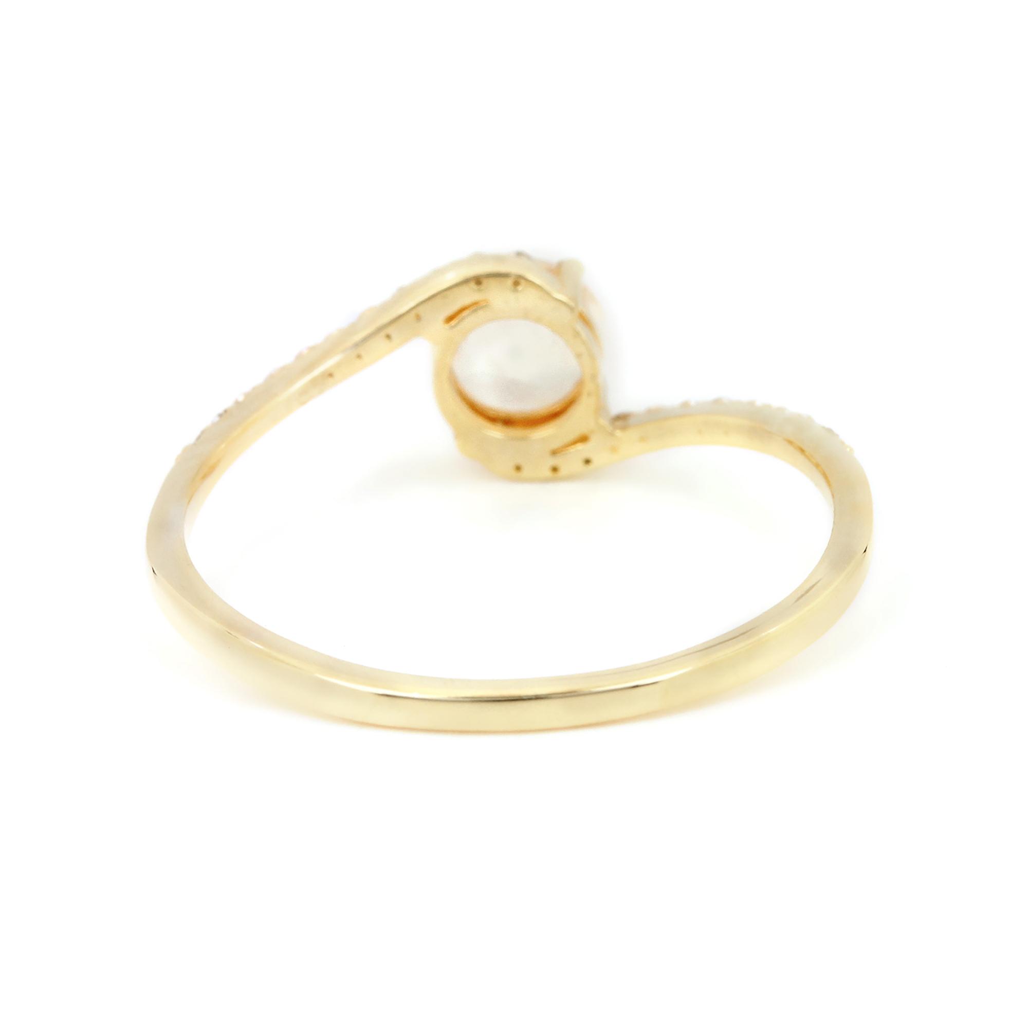 Solid 14k Gold Diamond Rainbow Stone Ring