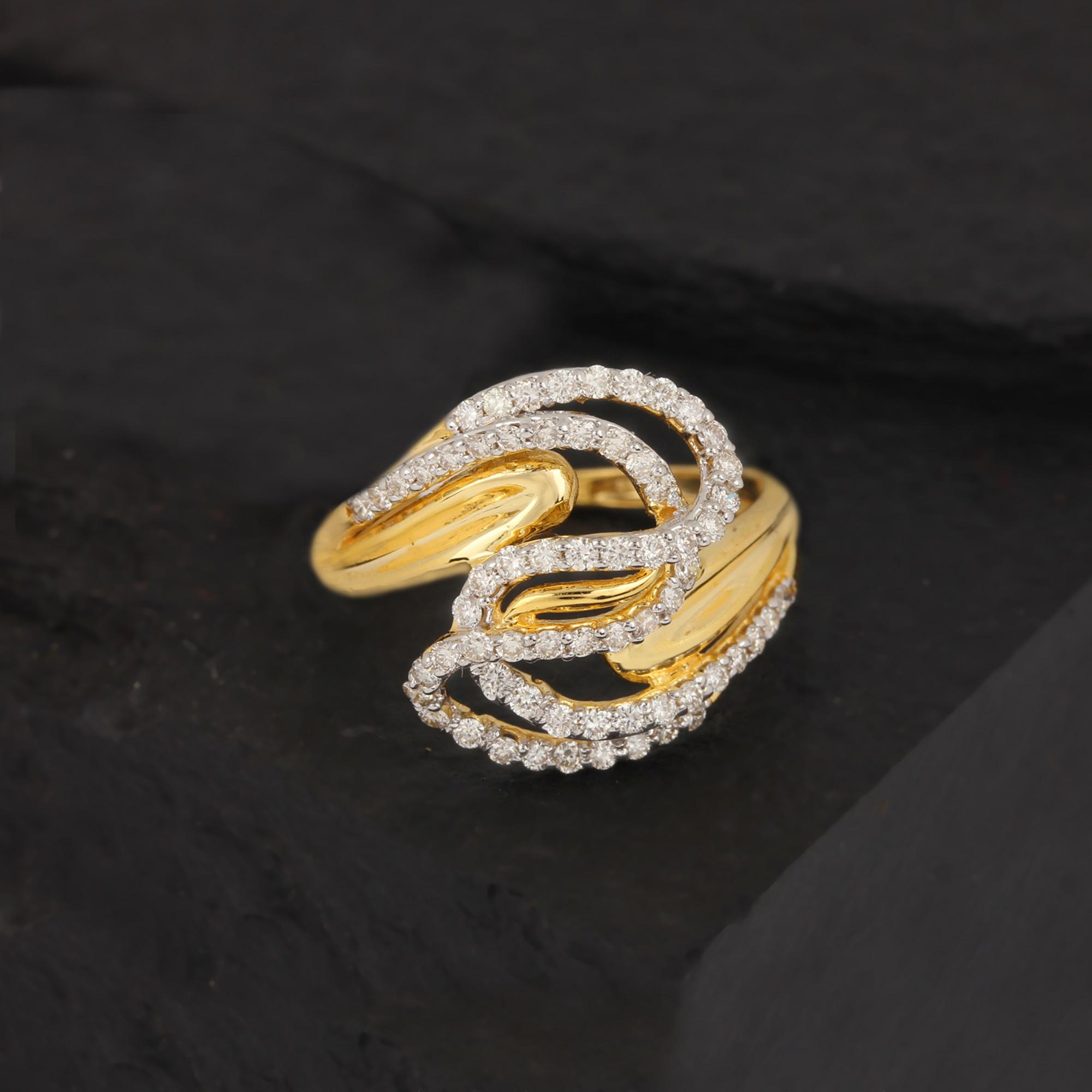 Natural Diamond Ring For Women