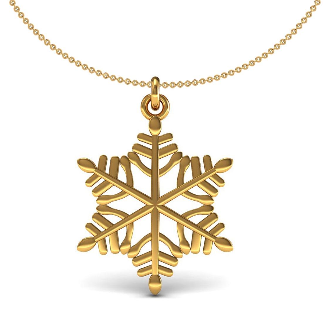 Solid gold kids pendant fine jewelry