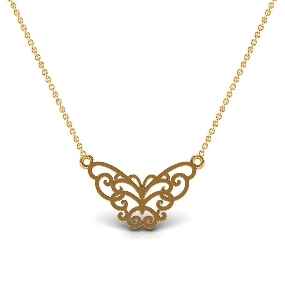 Kids designer pendant set in 18k gold fine jewelry